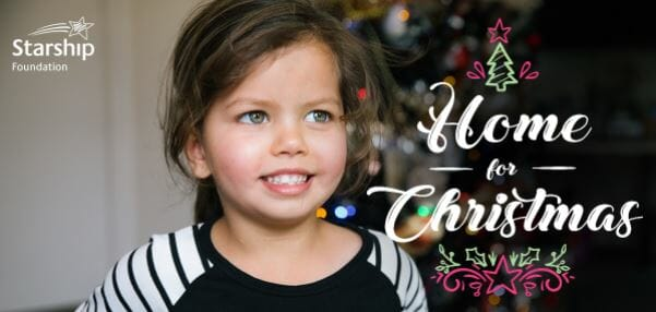 Support Kiwi children in need through the Starship Foundation's Christmas campaign