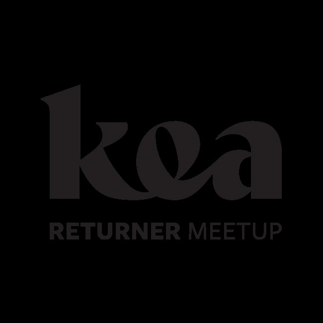 Kea Returner Meetup logo