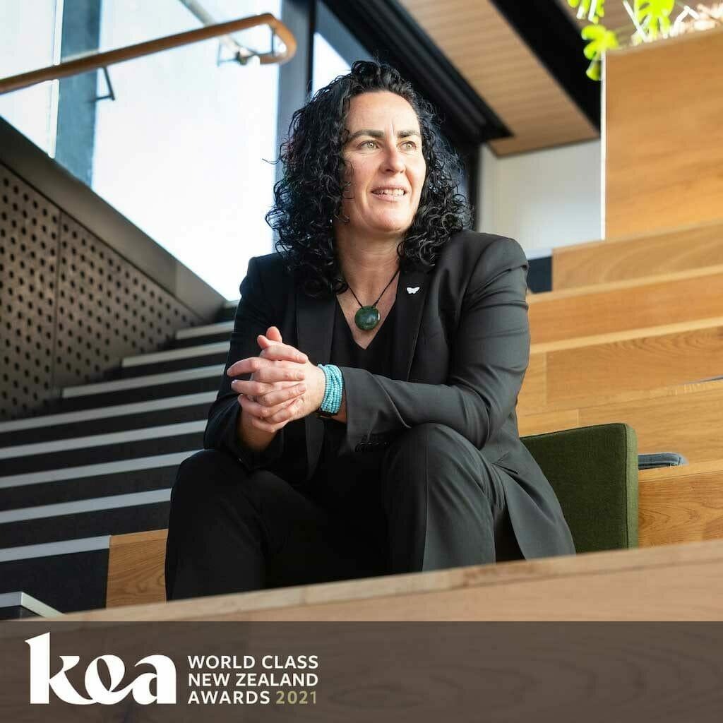 Kea World Class Award Winner Jane Henley